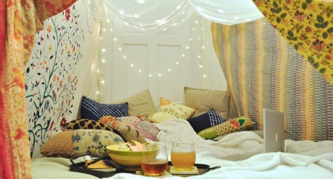 Try Camping At Home!