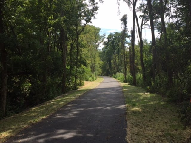The 2,100-foot Eagles Lake– Nathanael Greene Lodge Connector Trail  in Green Township is currently under construction with an expected completion date this spring.