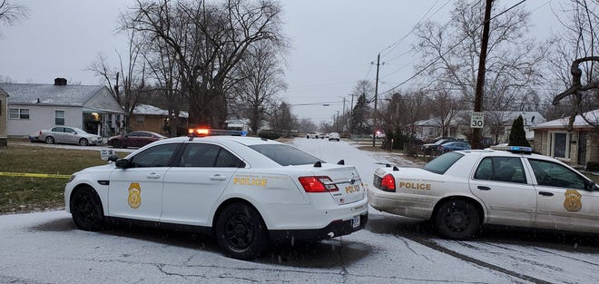 Indianapolis Police are still working this morning at the scene of a shooting that left multiple people dead in the 3500 block of Adams Street.