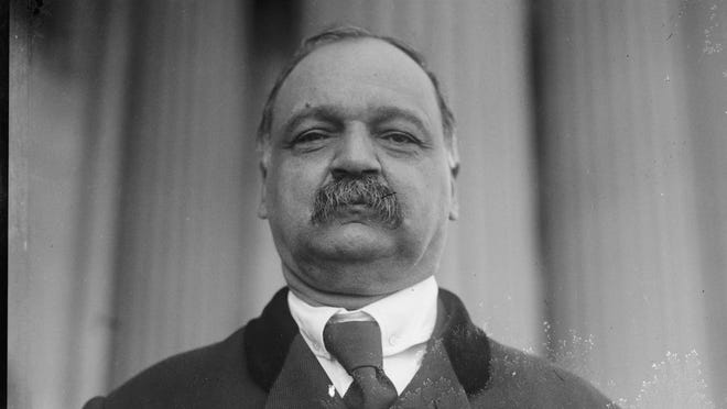 Charles Curtis was U.S. vice president when Herbert Hoover was president, from 1929-33. His mother was part Native American.