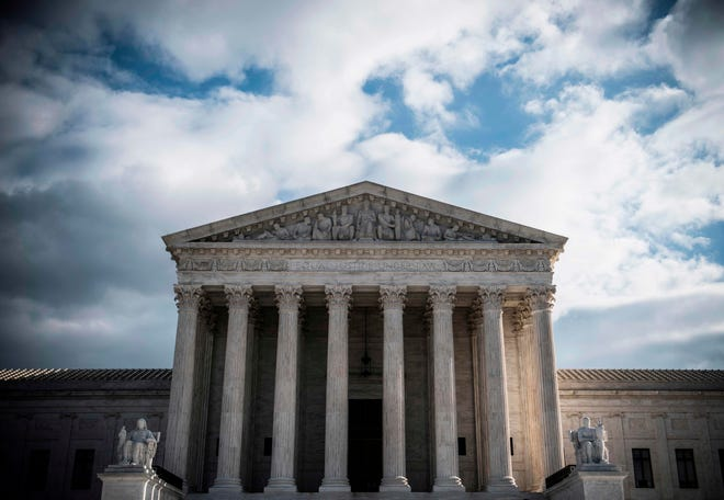 U.S. Supreme Court Building on Dec. 24, 2018, in Washington, D.C.
