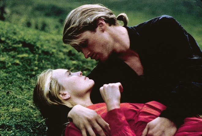 """Robin Wright and Cary Elwes in a scene from the 1987 film """"The Princess Bride."""""""