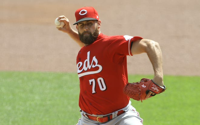 Although manager David Bell thinks Tejay Antone might be better suited to pitch out of the bullpen, he is still technically in the competiton for the fifth starter's spot with Michael Lorenzen, Jeff Hoffman and José De Léon.