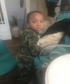 Nylo Lattimore, 3, is missing, police said Saturday evening.