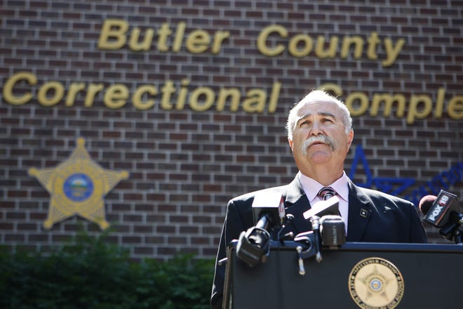 Butler County Sheriff Richard Jones tested positive today for COVID-19.