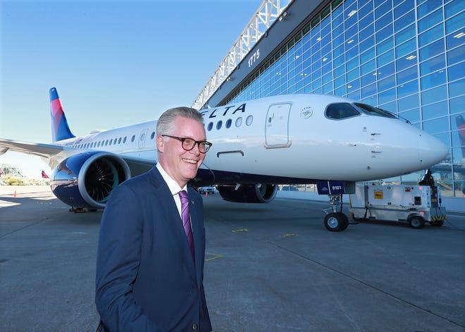 "Delta CEO Ed Bastian calls mandatory COVID testing for flights within the US a ""horrible idea.''"