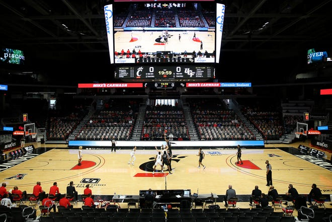 The state of Ohio on Tuesday granted Cincinnati an attendance variance to allow 9% capacity, or about 1,135 fans, inside the 12,012-seat arena.