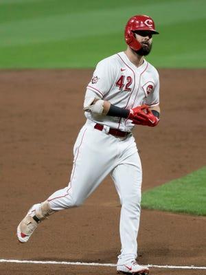 Jesse Winker was the Cincinnati Reds' best hitter last season and started 35 games at designated hitter.