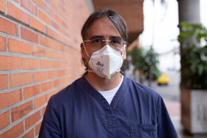 """Dr. Juan Jose Velez, who runs the COVID-19 ward in a hospital in Medellin, Colombia, says the COVID-19 vaccine should be a matter of """"solidarity with the rest of the world."""" But many experts say that's not how it's playing out."""