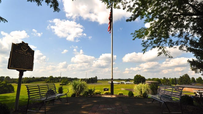 Campbell Hill, in Bellefontaine, is Ohio's highest point at 1,550 feet above sea level.