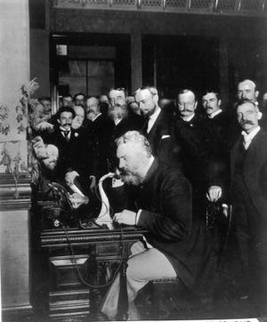 The first operational telephone was made by Alexander Graham Bell in 1876.