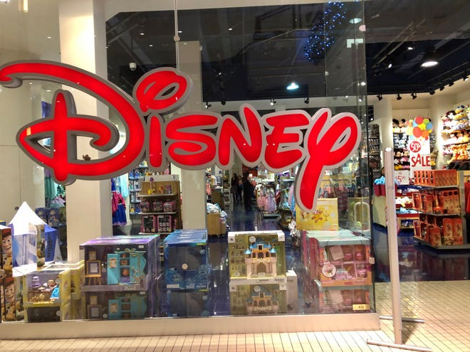 About 60 Disney Store locations are expected to close in 2021.