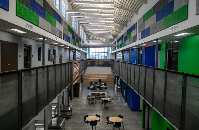 Winton Woods High School's new campus was introduced as part of the Winton Woods North Campus in Forest Park on Monday, March 8, 2021. The building is for grades 7-12. In 2016, a levy was passed to build two new campuses including a K-6 grade campus in Greenhills.