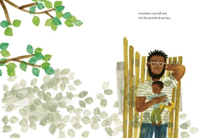 """An inside look at Duchess Meghan's children's book """"The Bench."""""""