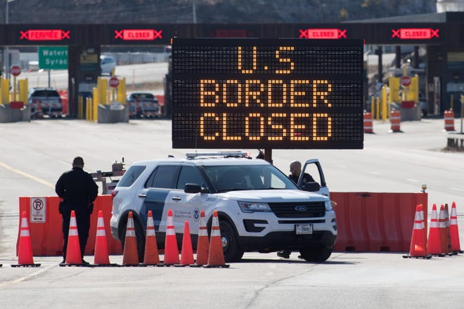 The Department of Homeland Security first closed the United States' borders to leisure travelers in March 2020.