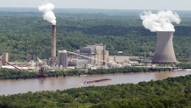 The Zimmer Power Plant in the Village of Moscow, Ohio, employs about 150 people along the Ohio River. Owner Vistra says the power plant that opened in 1991 will be retired early in May 2022.